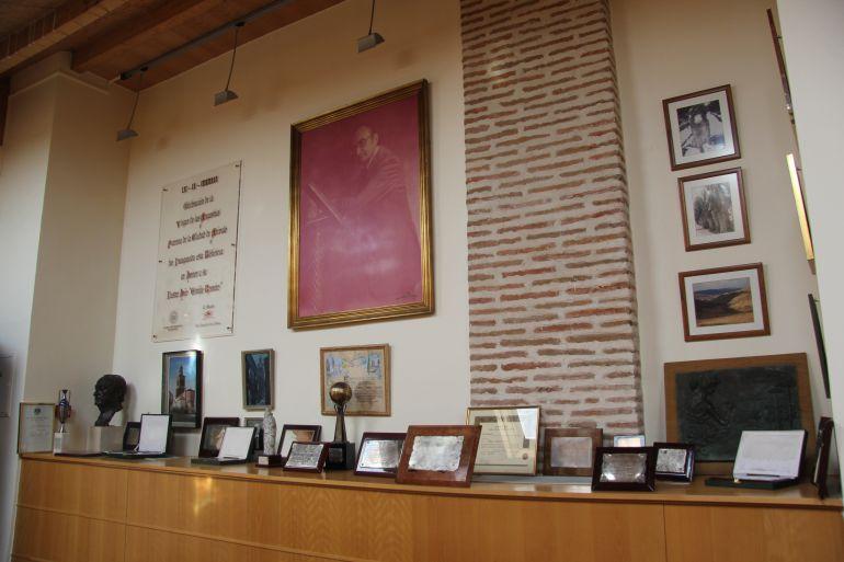 Interior de la Biblioteca Emilio Romero en Arévalo