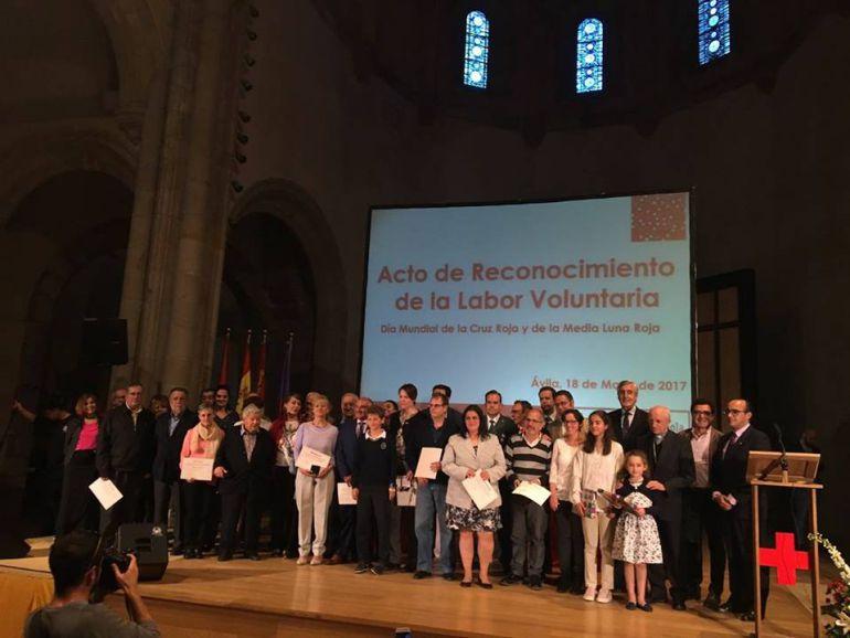 Acto de homenaje a los voluntarios
