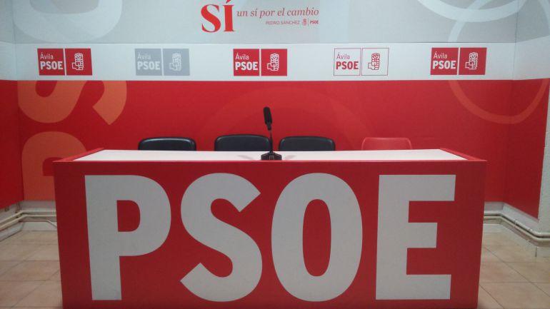 Sede del PSOE en Ávila