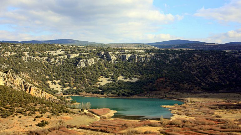 Laguna de El Tobar.