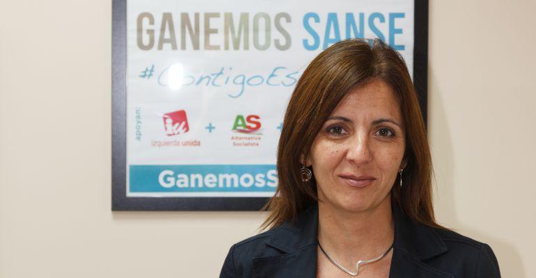Ángeles Barba, nueva concejal de Medio Ambiente, Parques y Jardines del ayuntamiento de Sanse