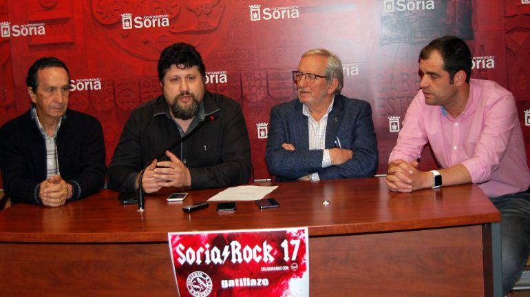 Soria Rock mezcla el rock de Soziedad Alkoholika con La Frontera y La Guardia