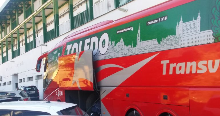 El Toledo ha salido de viaje al mediodía del viernes