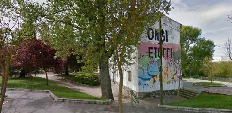 Barrio okupa de Errekaleor en Vitoria