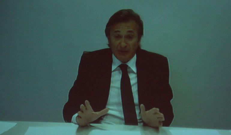 Imagen de archivo de una videoconferencia de Josep Pujol Ferrusola desde Miami
