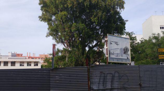 Obras en el pabellón Fernando Portillo