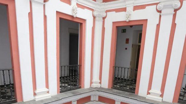 Interior del Palacio de Recaño