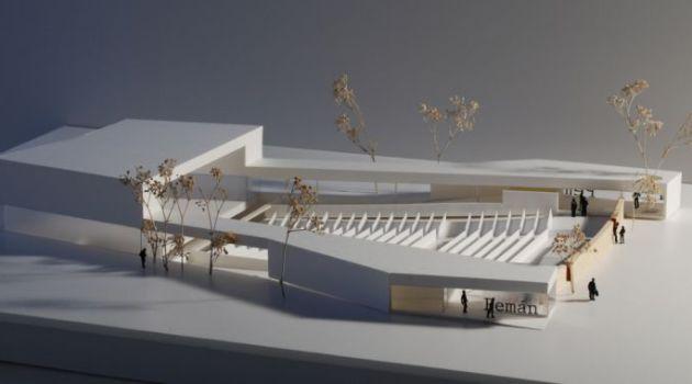 Diseño del nuevo teatro del parque