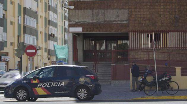 Sede de la comisaría de Cádiz, en obras