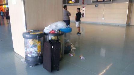 Imagen de este sábado en la terminal