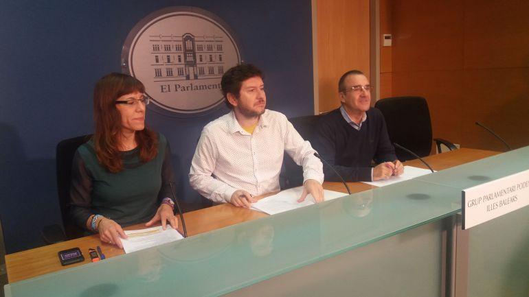 Podem recaba en Balears apoyos a la moción de censura contra el PP