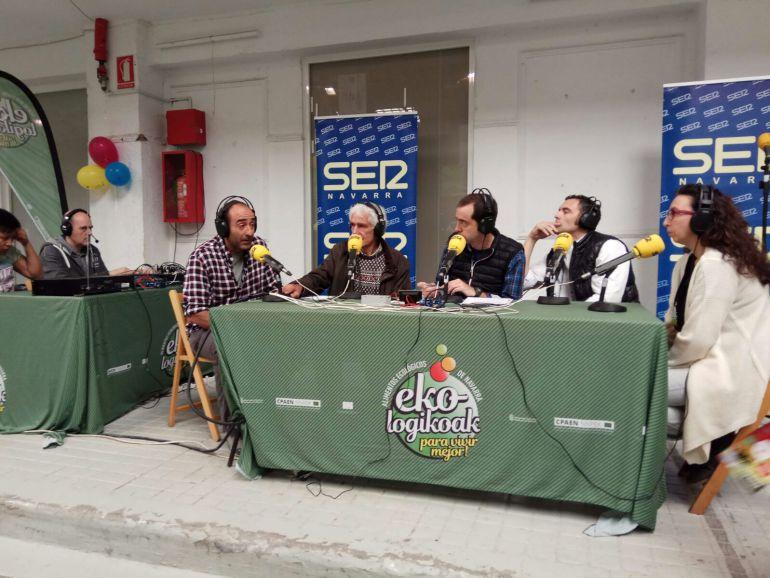 El magazine A Vivir Navarra se ha acercado hasta la Feria ecológica de Navarra