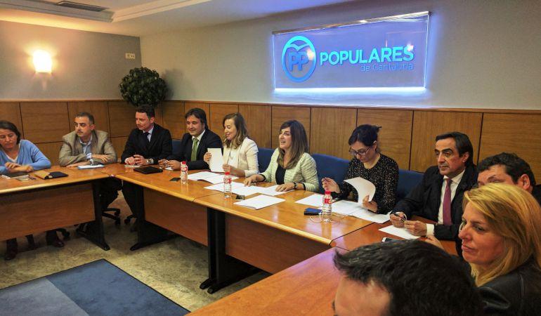 Comité Ejecutivo del Partido Popular de Cantabria.