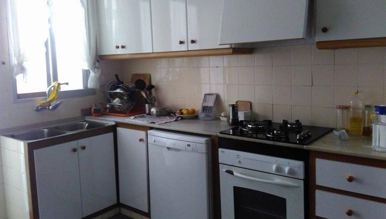 Imagen de archivo de una cocina