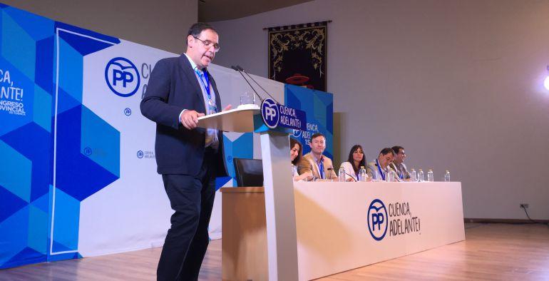 Benjamín Prieto, reelegido presidente del PP de Cuenca.
