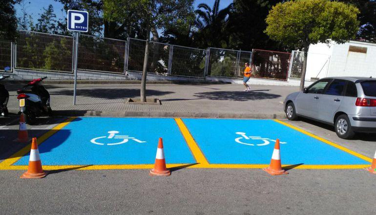 Nuevaz plazas de aparcamiento especial en Gandia y playa