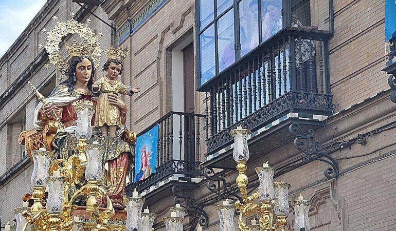 Imagen de archivo de María Auxiliadora de Triana, popularmente conocida como La Sentaíta
