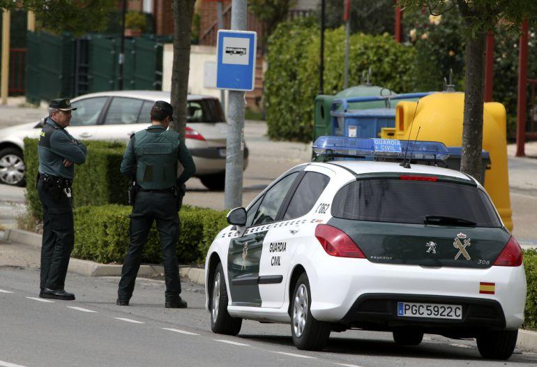 Una imagen de archivo de agentes de la Guardia Civil.