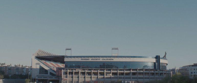 Imagen del estadio Vicente Calderón.