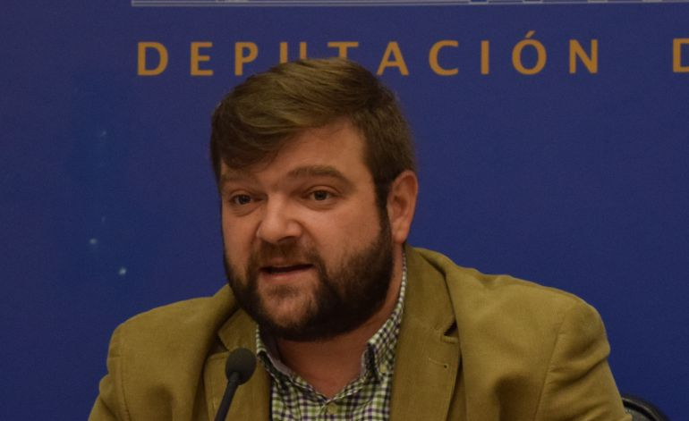 Álvaro Santos, portavoz del PSOE en la Diputación de Lugo