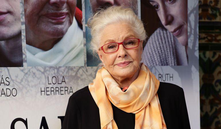 Lola Herrera llega a Fuenlabrada para representar 'La velocidad del otoño'