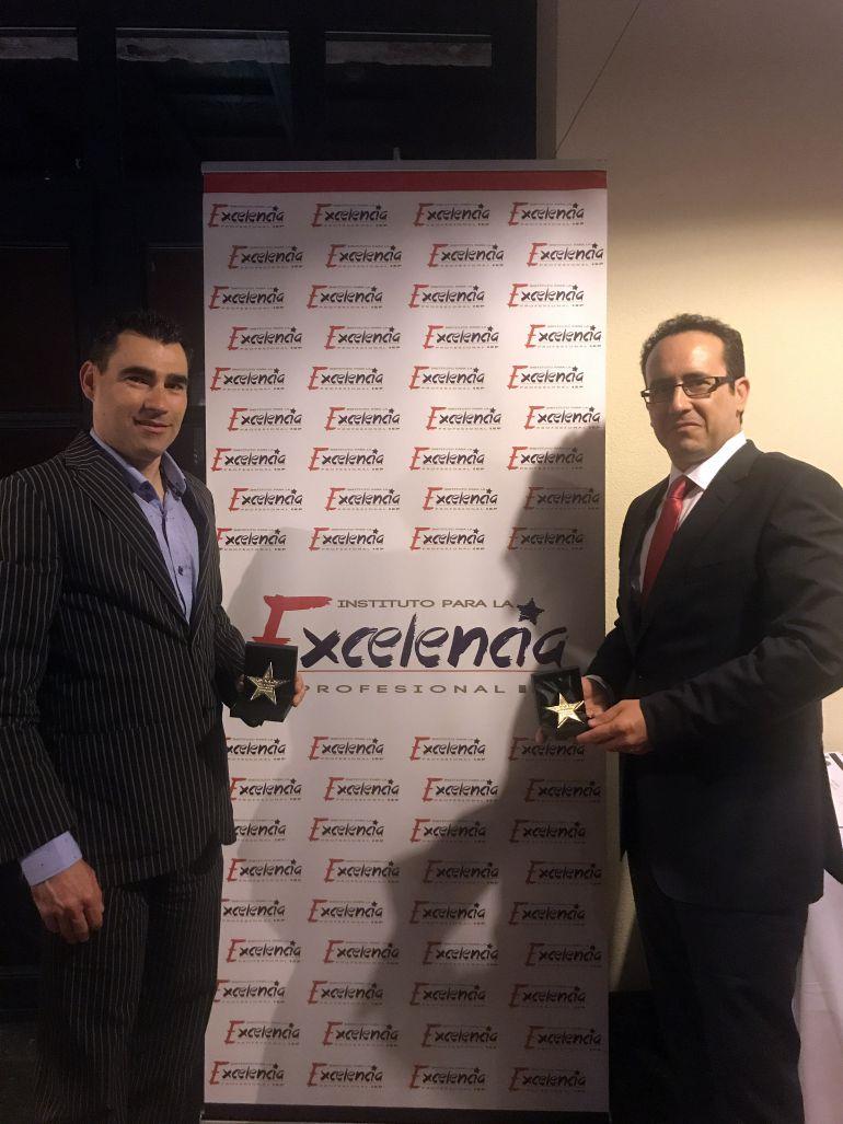Jorge Bermejo y Rodrigo Juarranz, los empresarios premiados