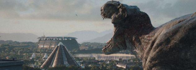 Fotograma de la película 'Jurassic World'.