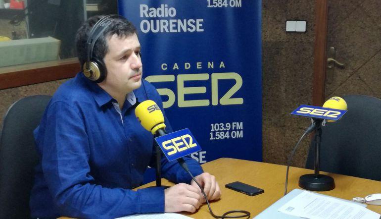 El portavoz socialista, Francisco Fraga