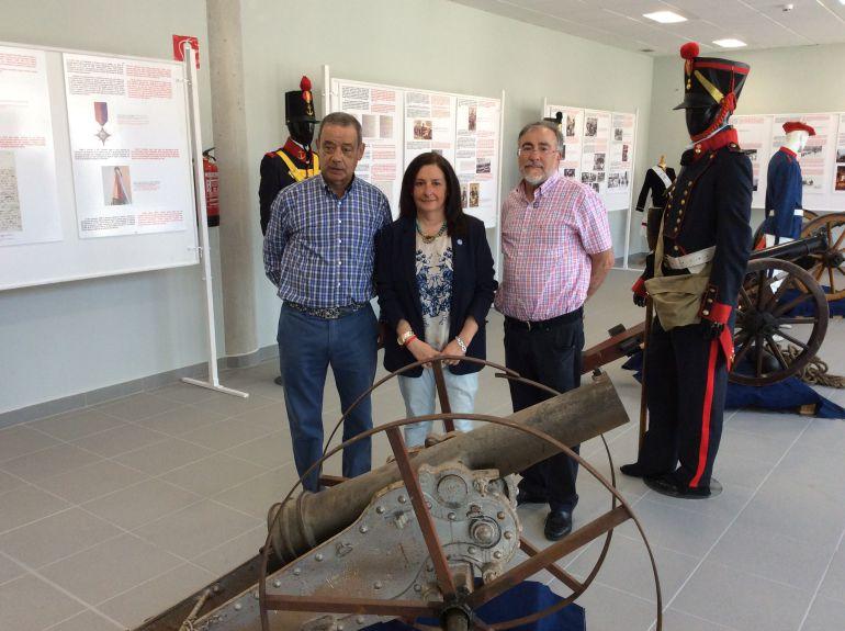 Carlos Hernández, Lula Retuerto y Agustín Camarero
