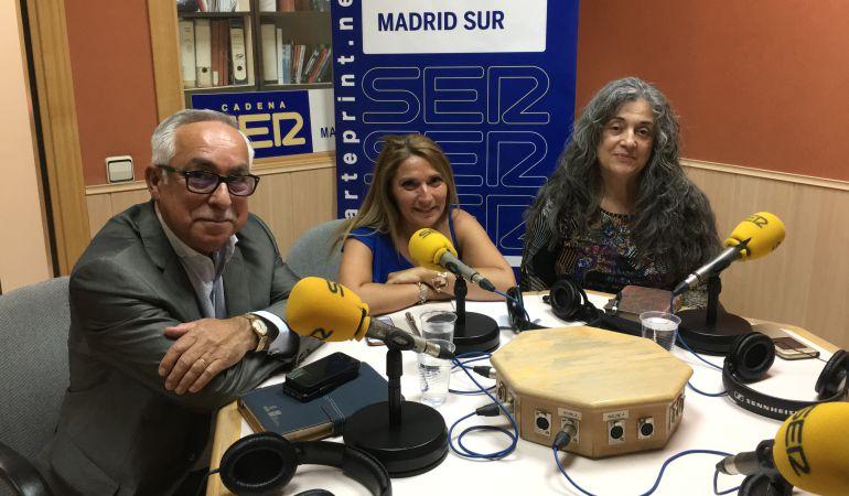 Los representantes de PP, Ciudadanos y Cambiemos Parla en los estudios de SER Madrid Sur
