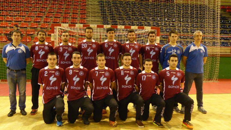 Plantilla del primer equipo de club Eibar Eskubaloia