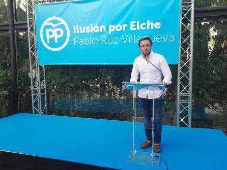 Pablo Ruz en un momento de su discurso