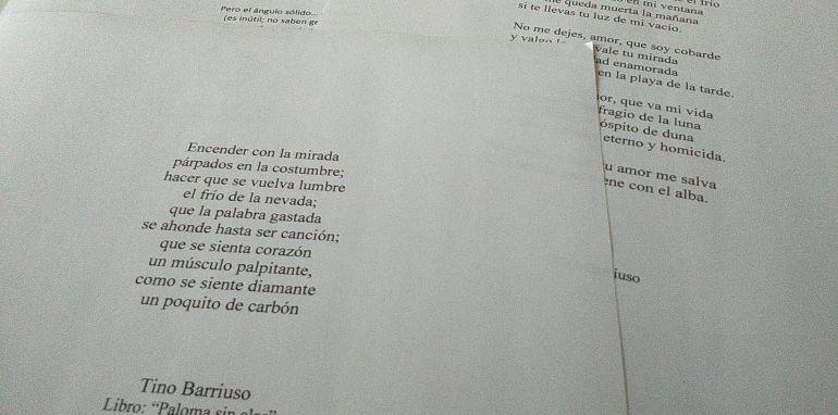 Poesía Tino Barriuso: Versos desde la emoción