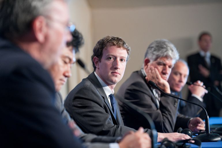 Foto de archivo (2011) de Mark Zuckerberg, fundador de Facebook
