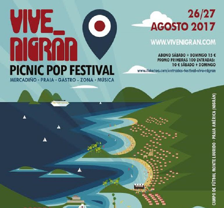 Cartel del Festival Vive Nigrán