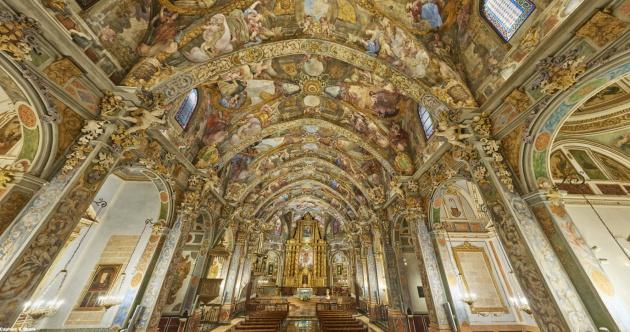 Panormámica de la iglesia de San Nicolás