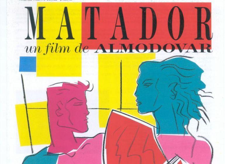 Poster de Matador diseñado por Carlos Berlanga