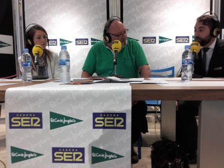 Estíbaliz Quintero, a la izquierda y Alejandro Álvarez, a la derecha