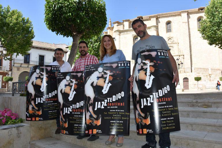 Presentación del Festival Jazz Te Digo de Baza