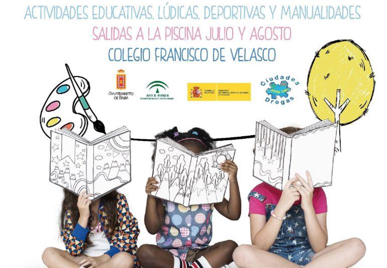 Cartel de la XXIV Edición de la Escuela de Verano del Ayuntamiento de Baza