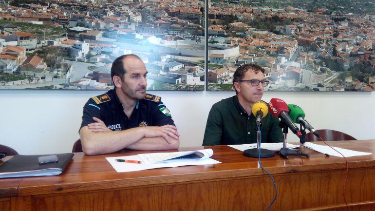 Presentación del balance de actuaciones policiales en Baza en 2016