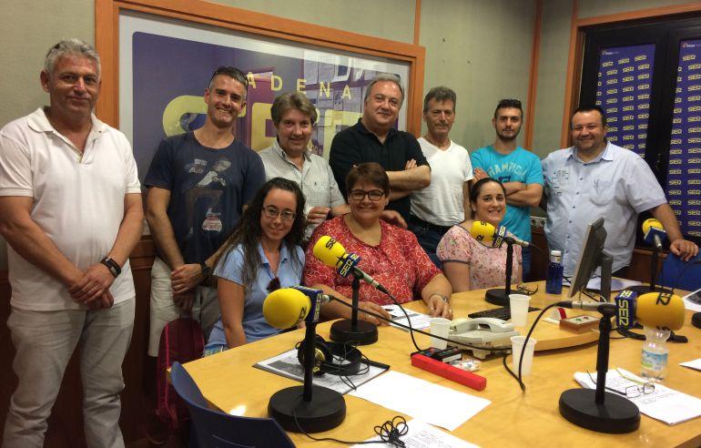 Alumnos y alumnas del CDC Greguerías de Fernán Núñez durante el programa Radio Agro Escuela