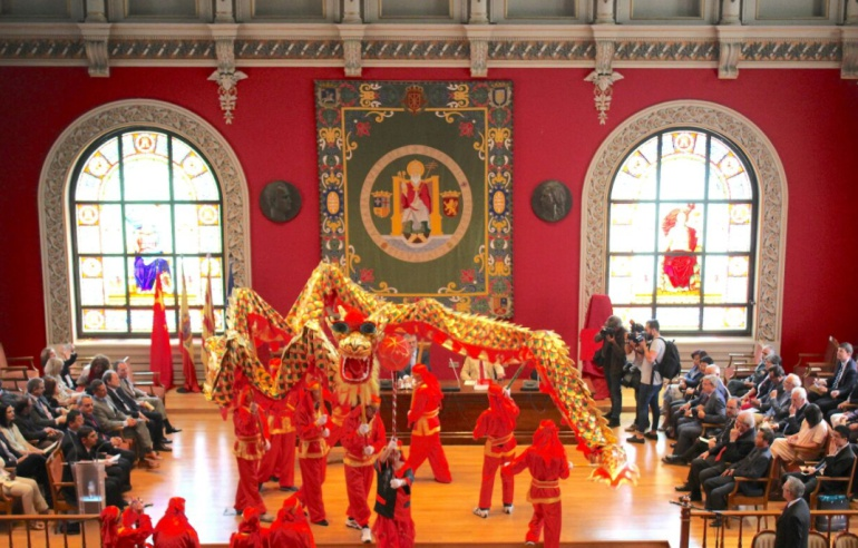 El Instituto Confucio abre sus puertas