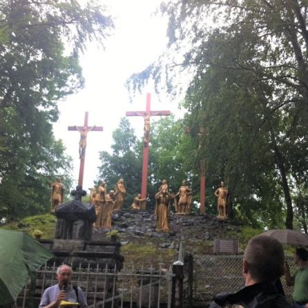 Imagen del Santuario de Lourdes