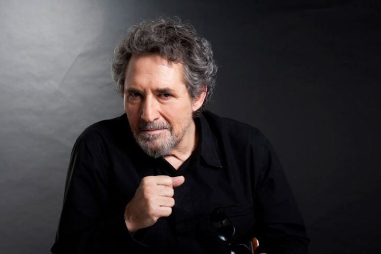 Miguel Ríos sigue disfrutando de la música.