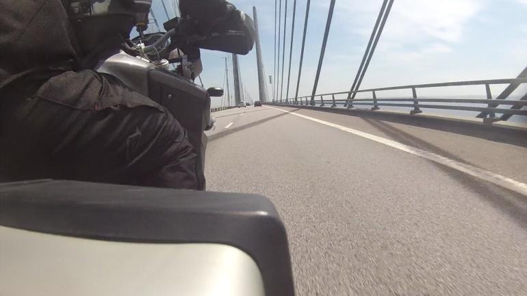 Puente de Oresund, el más largo para tráfico rodado y ferrocarril de Europa