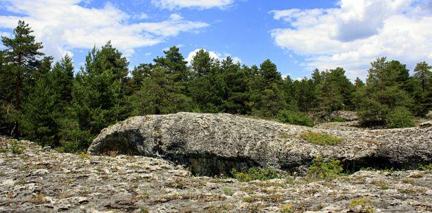 Mar de piedra en el Tormagal de Valsalobre.