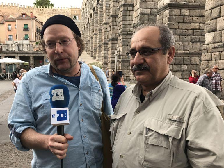 Dogan Tiliç e Ilya U. Topper dieron testimonio en Segovia de la situación que viven los periodistas en Turquía.