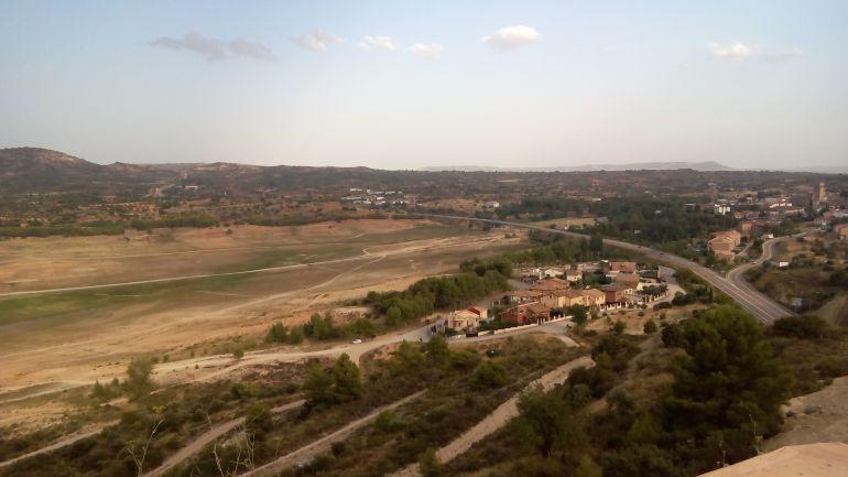 Vista de Entrepeñas desde Sacedón