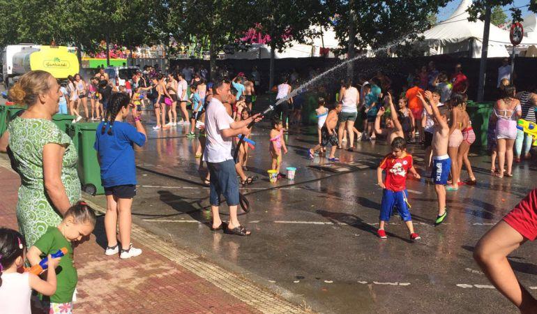 Las principales actividades de las fiestas del agua concluyen este lunes